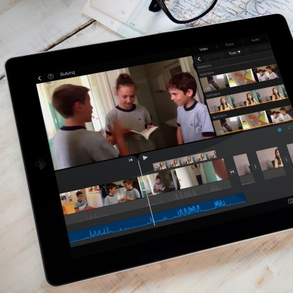 curso imovie keynote ipad