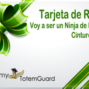 Voy a ser un Ninja de Evernote Tarjeta Regalo